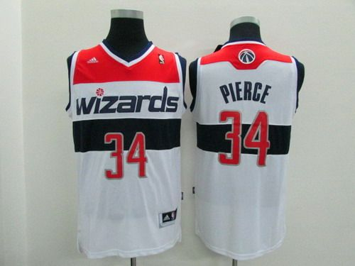 promo code 92044 312dc NBA Washington Wizards #34 Paul Pierce Revolution 30 ...