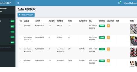 Membuat eCommerce dgn PHP Framework CodeIgniter | Tutorial