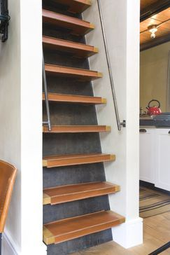 Best Steep Stair Solution … Tiny House Stairs Attic Bedrooms 640 x 480