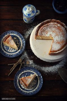 Tarta de ricota (cheesecake al estilo argentino)