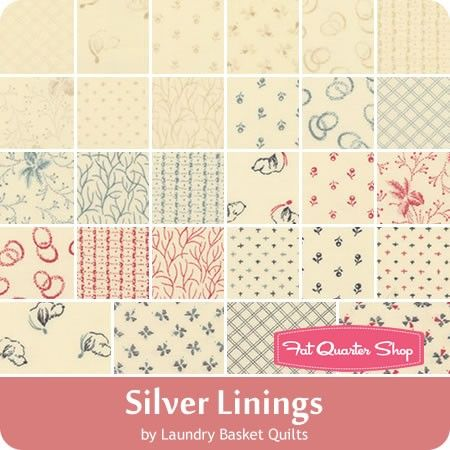 Silver Linings By Laundry Basket Quilts For Moda Fabrics January