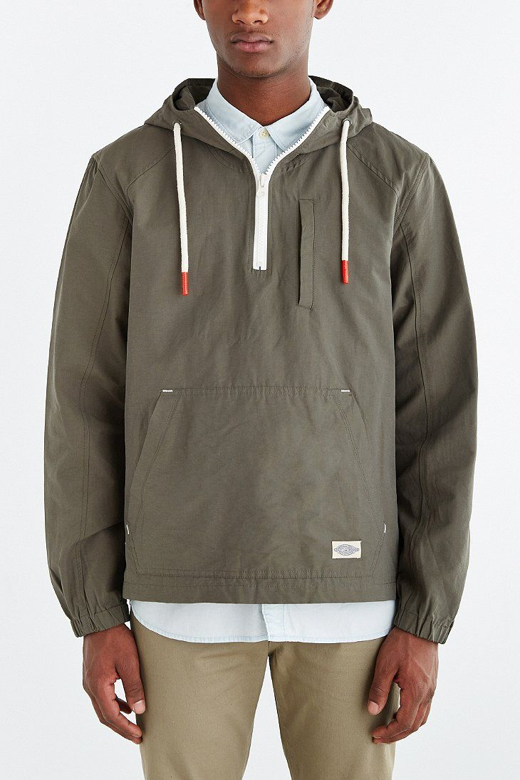 2764d9cb97 CPO Nylon Side Zip Anorak Jacket - Urban Outfitters