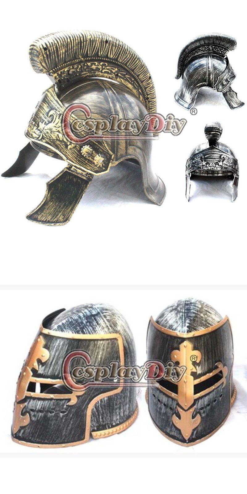 Cosplaydiy New Arrival Knight Helmet Costume Ancient Rome Hallloween Costume Cap Free Shipping D0603  sc 1 st  Pinterest & Cosplaydiy New Arrival Knight Helmet Costume Ancient Rome Hallloween ...