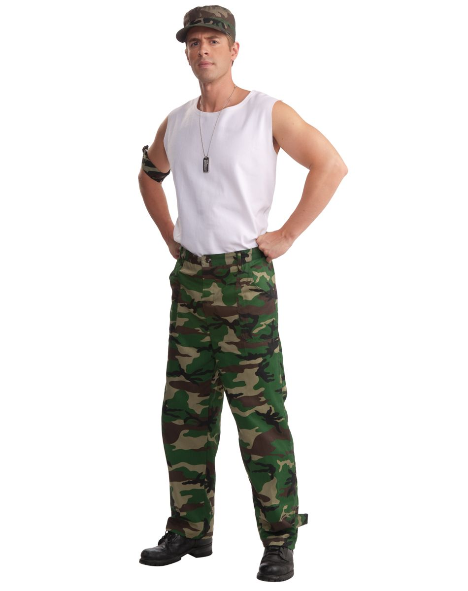 Camouflage Adult Mens Army Pants – Spirit Halloween | Evil Pins ...