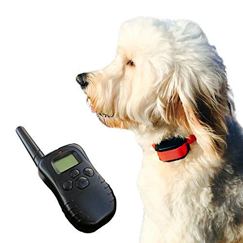Shock Collar For Dogs By Shaggydogz Offers Vibration Sound And