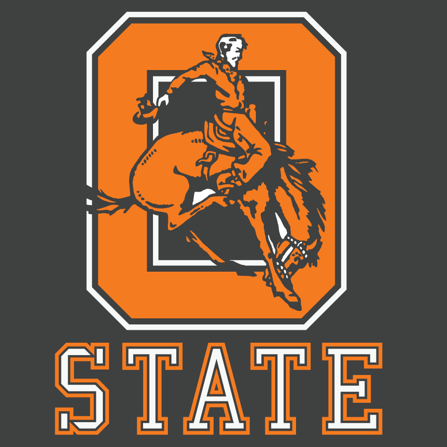 Oklahoma State Cowboys Frank Ozmun Graphic Design