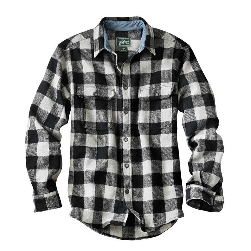 white and black buffalo plaid shirt i would totally wear