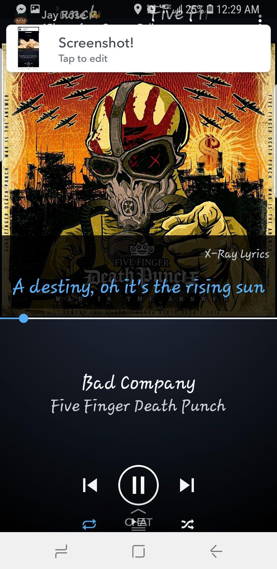 Five Finger Death Punch Rising Sun