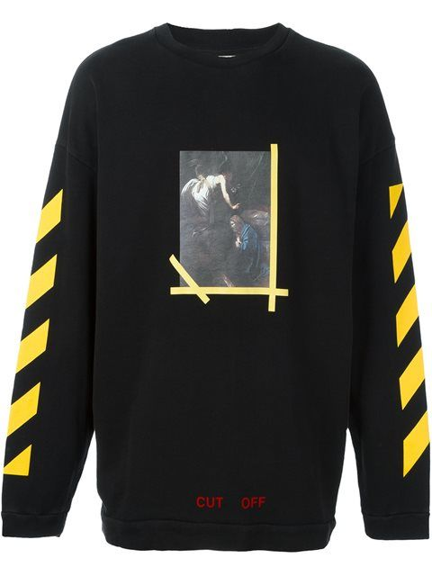 bc701c3560d6 OFF-WHITE  Annunciazione  Sweatshirt.  off-white  cloth  sweatshirt ...