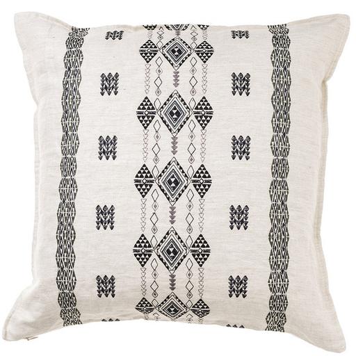 Berber Stripe Ivory Cushion By Coral & Tusk