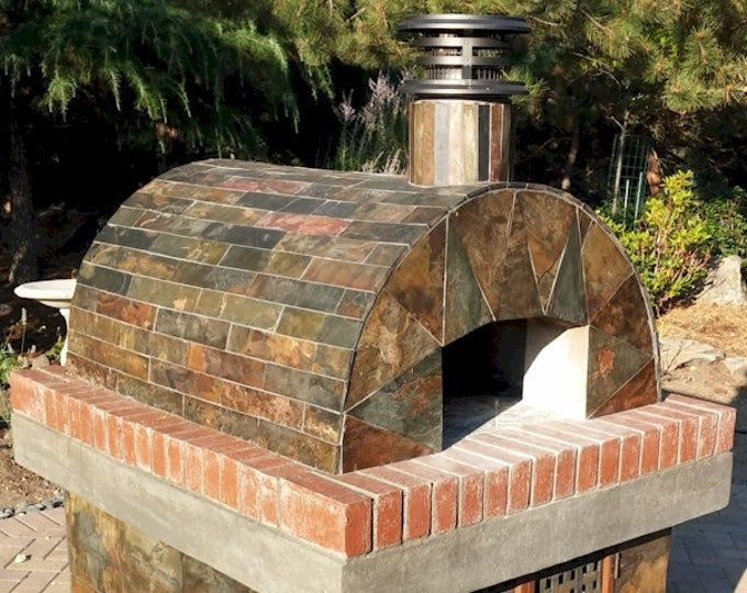 Pizza Oven • Brick Oven - Build an Outdoor Pizza Oven for your family with our Uber-detailed Wood Burning Pizza Oven Plans! OUR BEST SELLER #brickpizzaovenoutdoor Pizza Oven Brick Oven Build an Outdoor Pizza Oven for your | Etsy #brickpizzaovenoutdoor