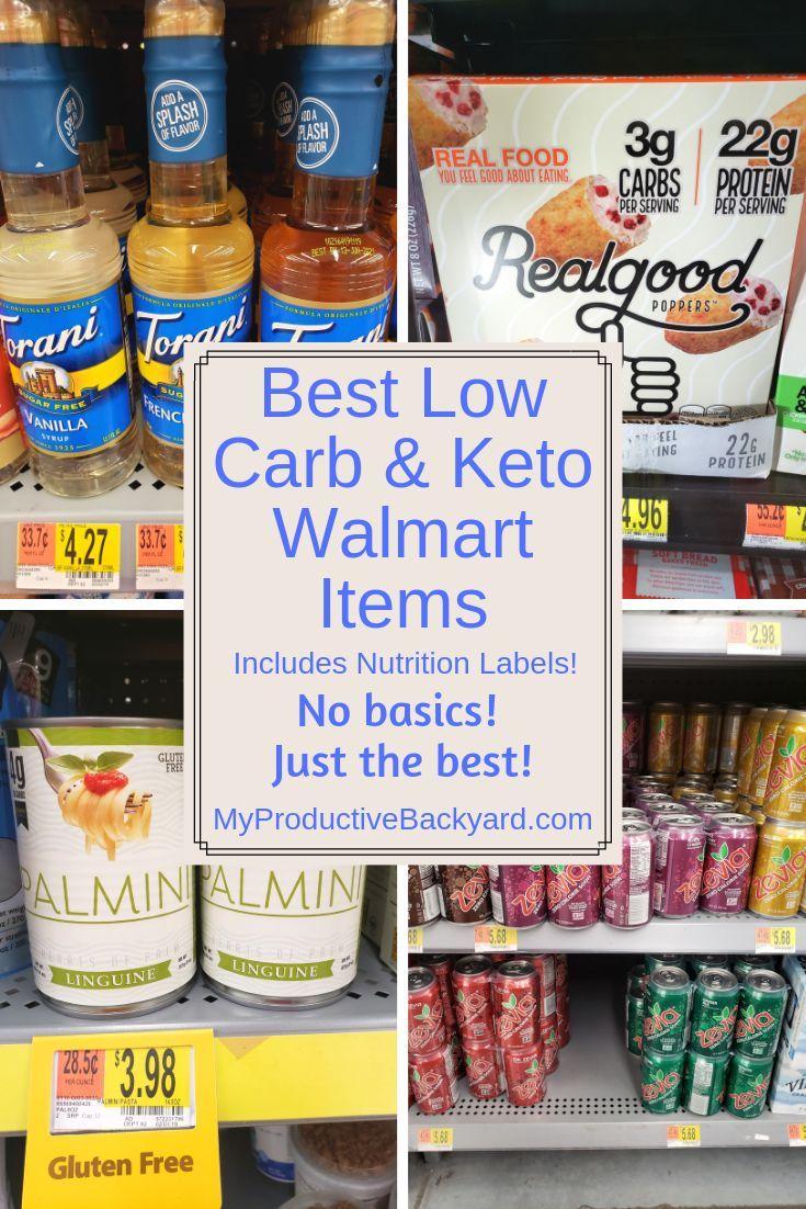 Best 60 Low Carb Keto Walmart Items