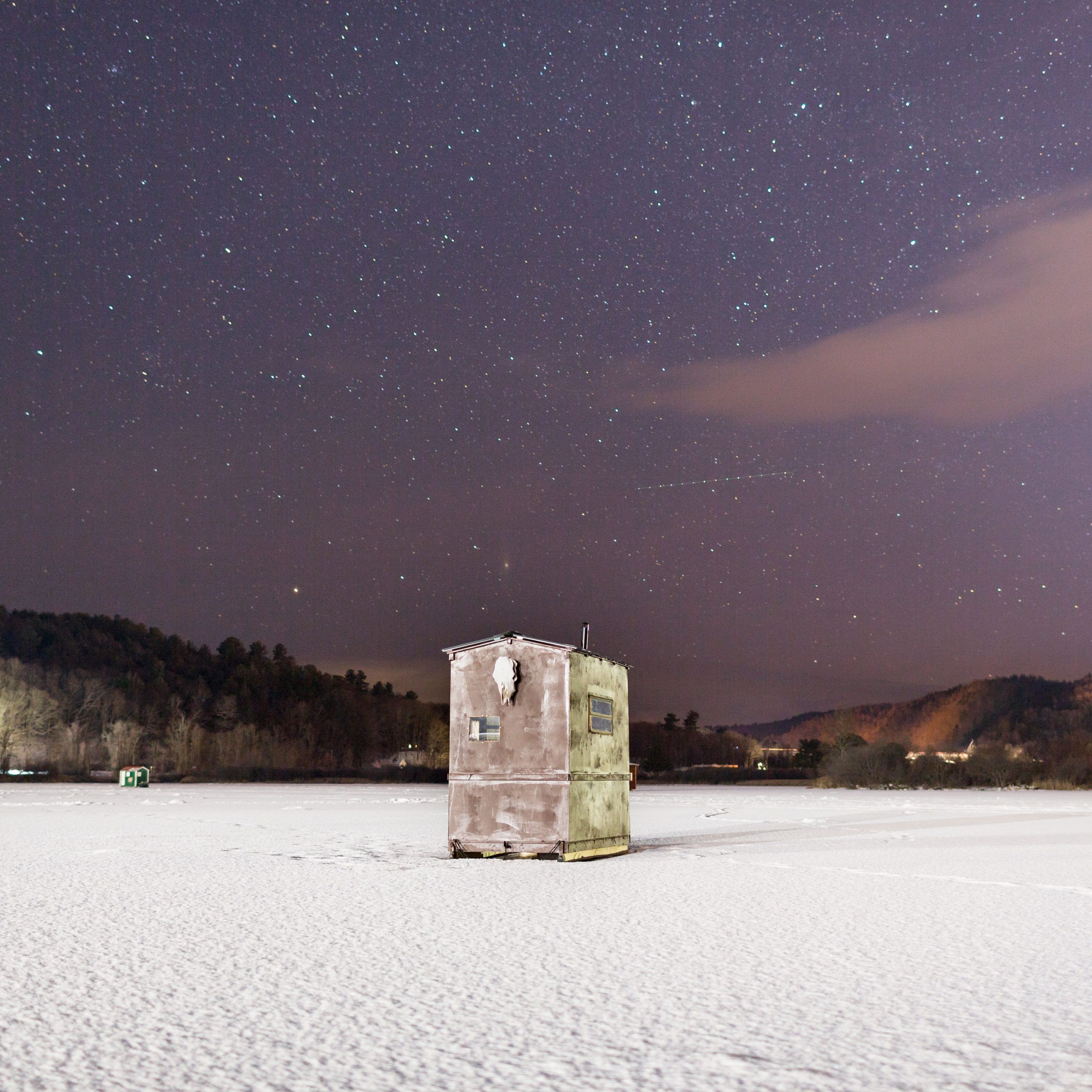 A brand new Brattleboro present focuses on artwork of Vermont ice fishing