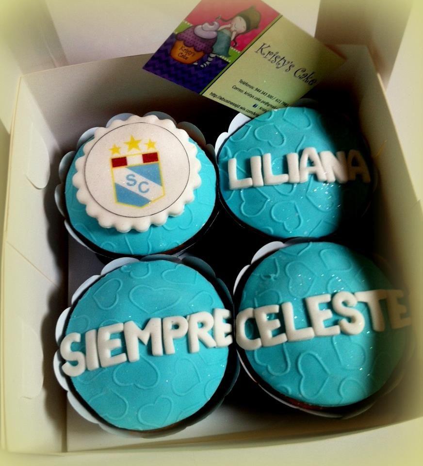 Cupcakes Lima Peru Futbol Sporting Cristal Cupcakes