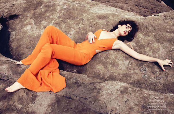 Emily Blunt in Harper's Bazaar (December 2011)   Paola Kudacki