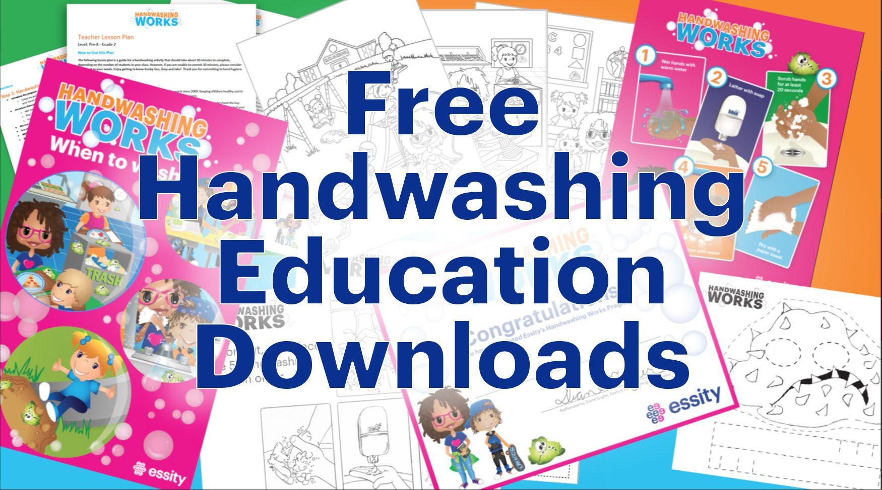 Handwashing Handwashingworks Lessonplan Germs