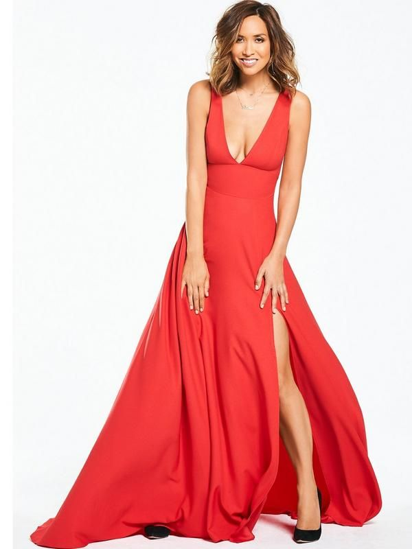 Myleene Klass Plunge Front Maxi Dress The Antique maxi dress by Myleene  Klass is straight out b810637c1