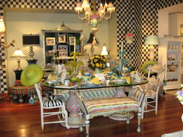 MacKenzie Childs Presents A Tabletop Design Event