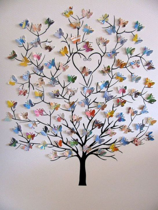 15 Ways To Make Your Walls Beautiful With Butterfly Wall Decorations 10