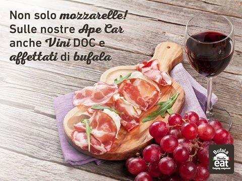 Proponiamo ogni giorno le #eccellenze eno-gastronomiche del territorio di Paestum. #formaggi, #ricotte, #carni e #insaccati rigorosamente di #bufala. #streetfood