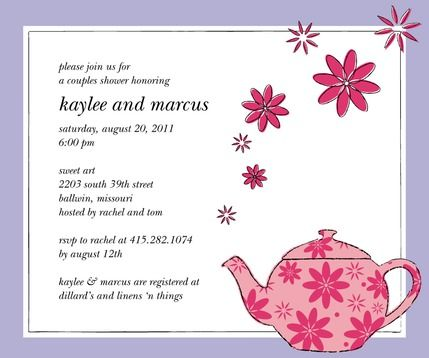 Flowering teapot bridal shower invitations bridal shower ideas flowering teapot bridal shower invitations filmwisefo Gallery