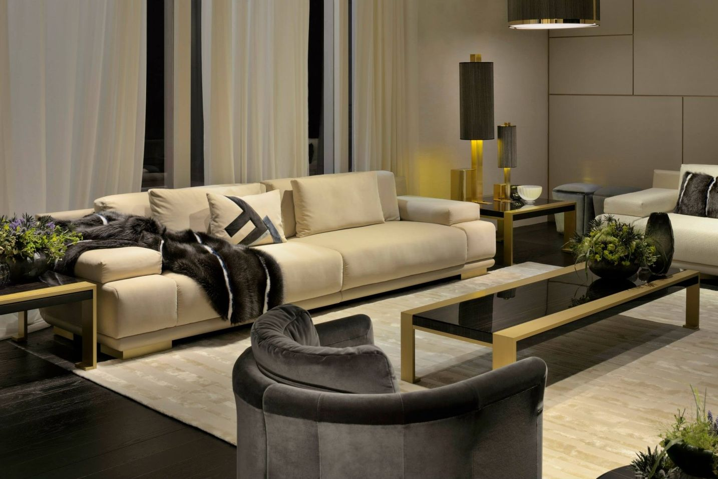 A Look At The New Fendi Casa Collection By Thierry Lemaire. A Contemporary  Art De Vivre. The Sleek Geometry Of The New Fendi Casa Sofas And Armchairs  By ...