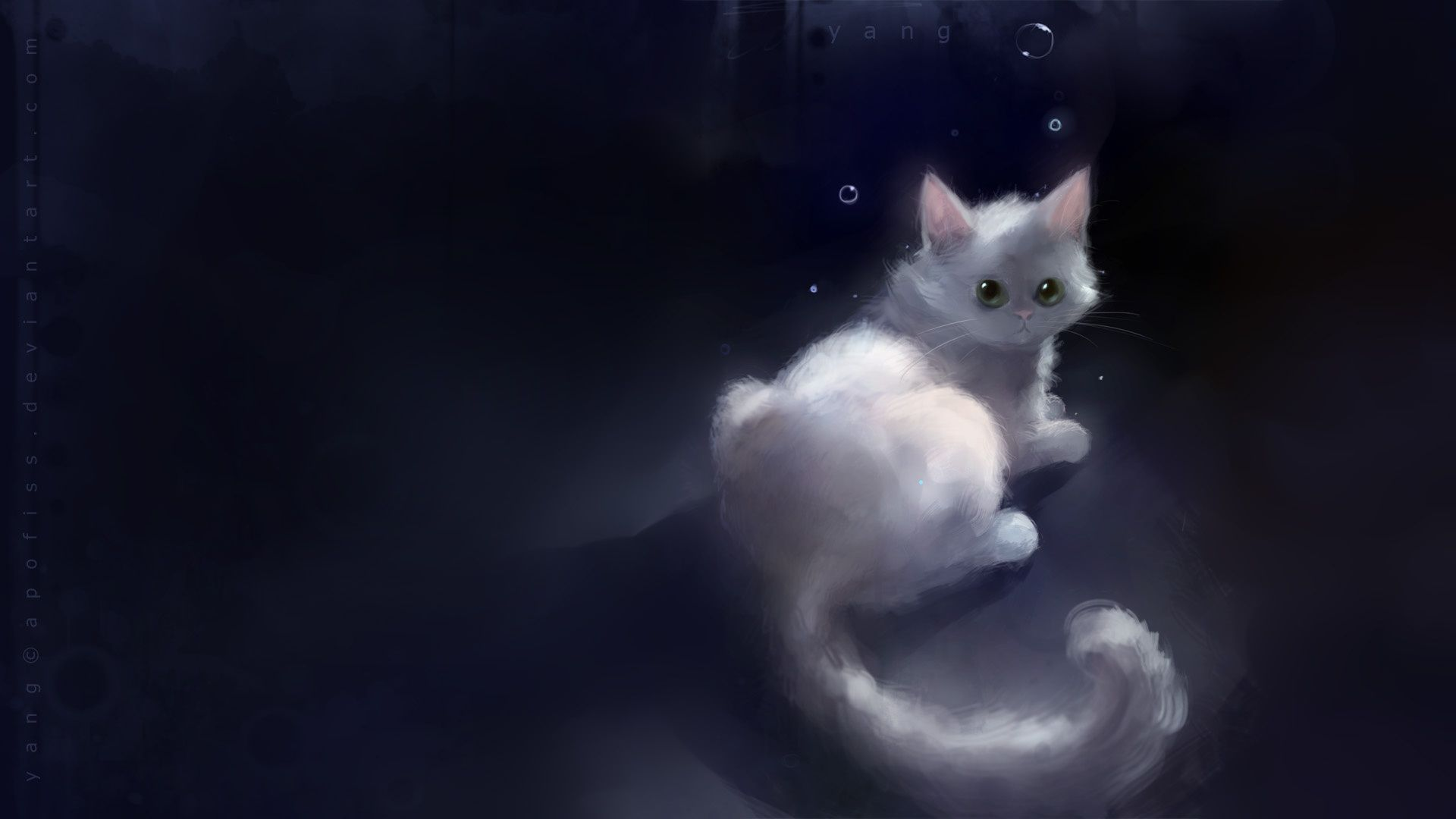 Heart Touching Cuties And Kittens Speed Painting By Apofiss