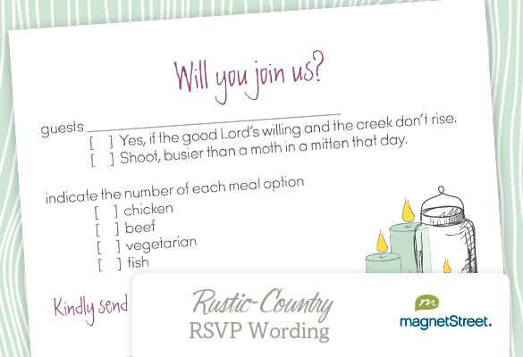 17 Best images about RSVP for wedding – Sample Rsvp Wedding Cards