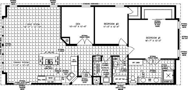 Floor plans manufactured homes modular mobile jacobsen also rh pinterest
