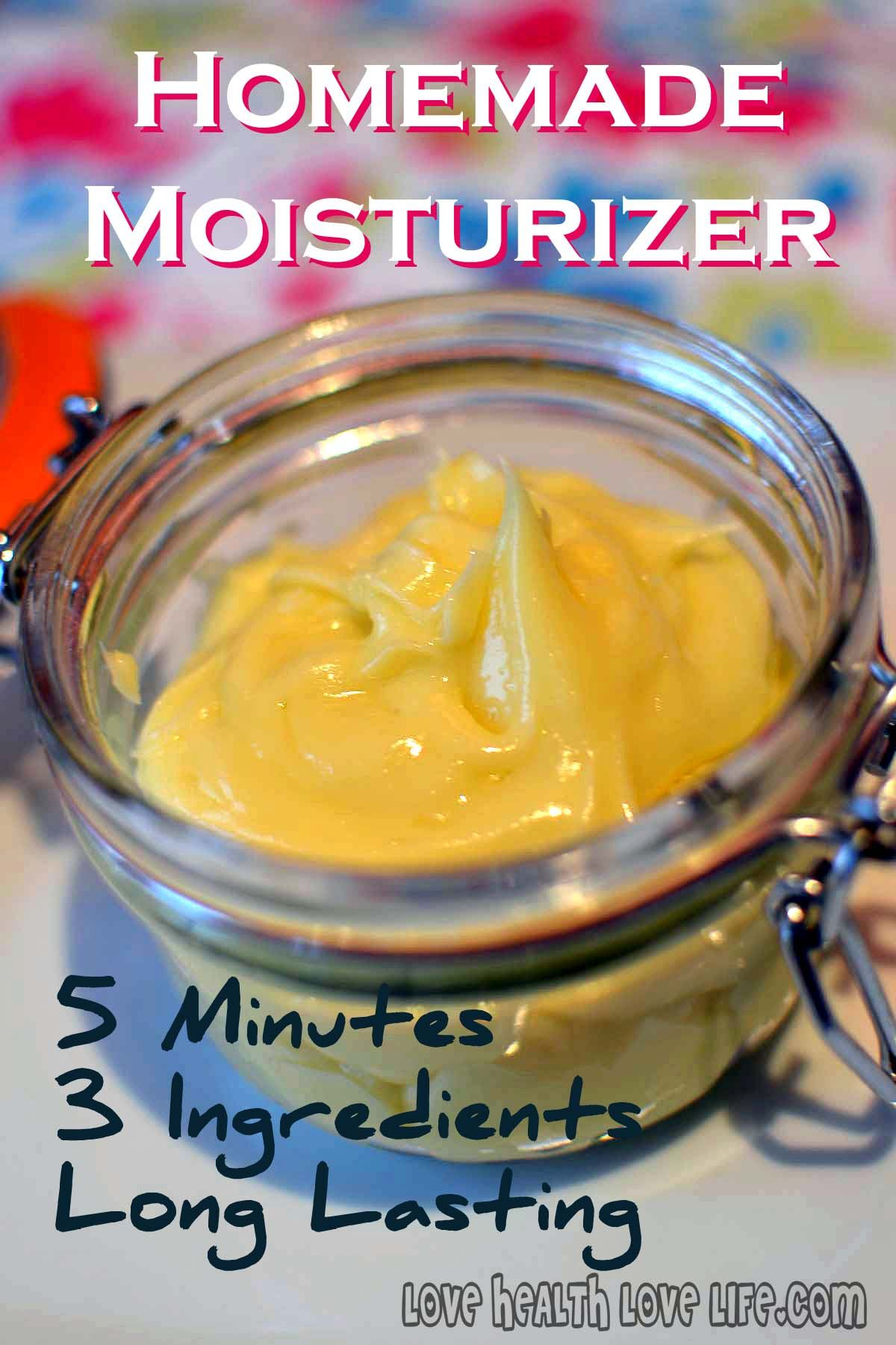 Homemade Moisturizer For Dry Skin 5 Minutes 3 Ingredients And Fool Proof Homemade Moisturizer Moisturizer For Dry Skin Skin Care Cream