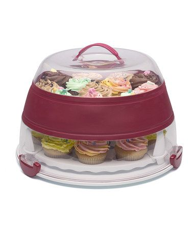 Holds 24 Cupcakes Or A Round Layer Cake Need This