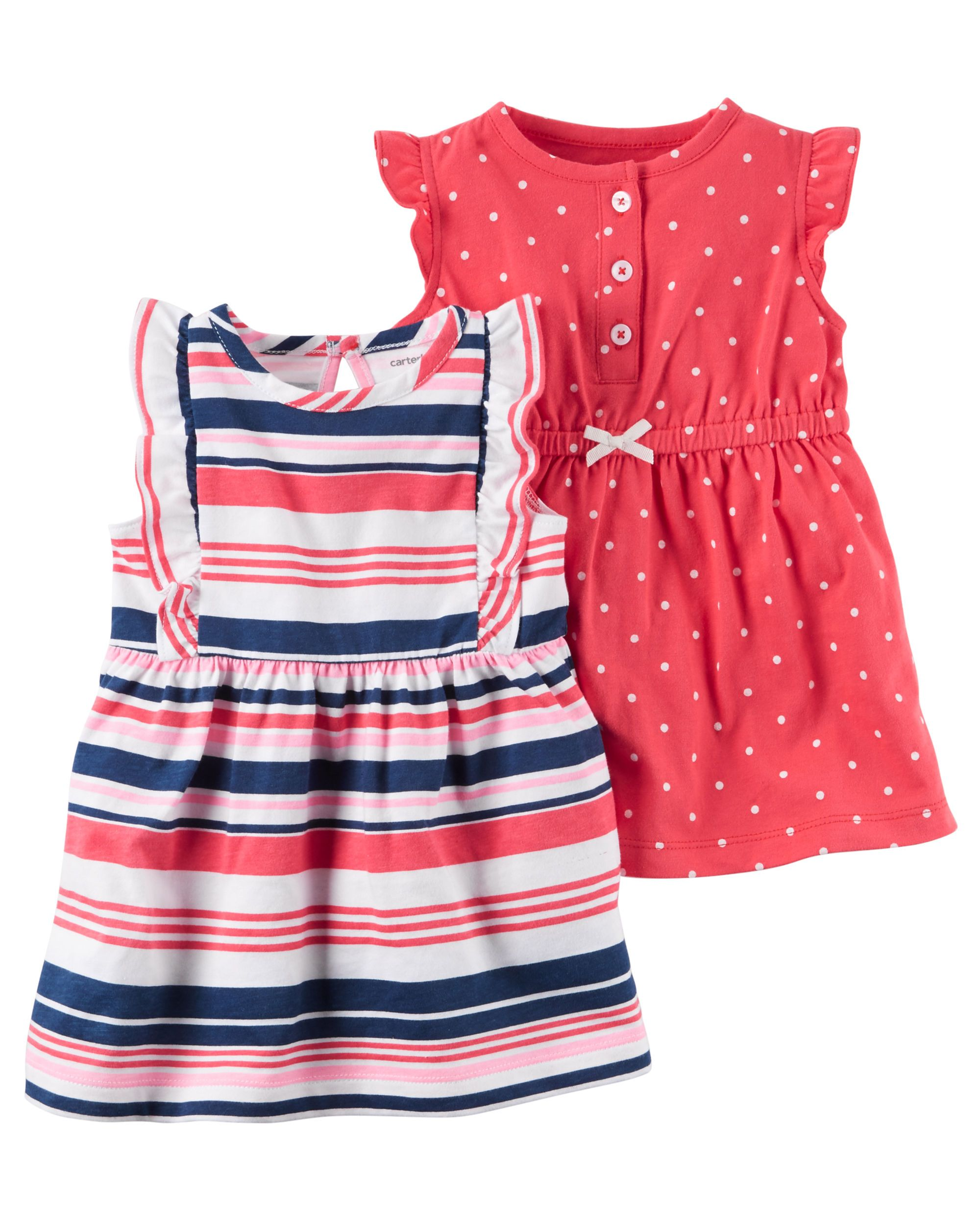 99f6065e2b9c Baby Girl 2-Pack Dress Set