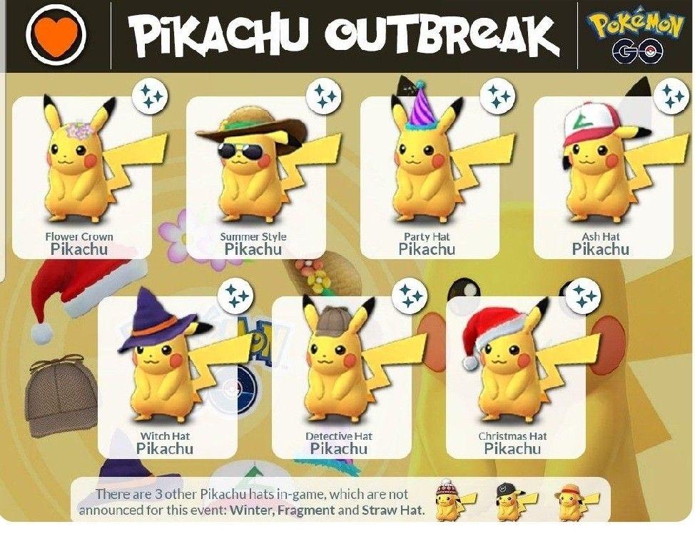 Pin By Kptketchem On Pokemon Go Pokemon Pokemon Go Pikachu Hat