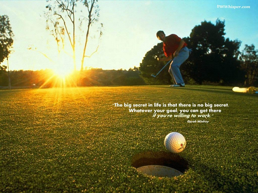 Inspirational Golf Quotes Your Goals Define Your Destiny. Inspiring Wallpapers