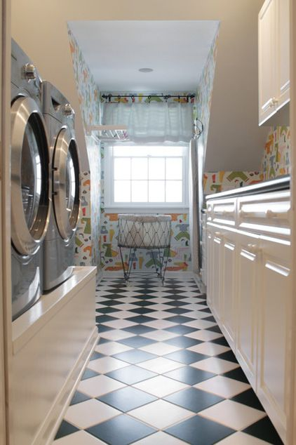 If I Have To Do Laundry I Want It To Be In A Bright Pretty Place Cool Rooms Laundry Room House Interior
