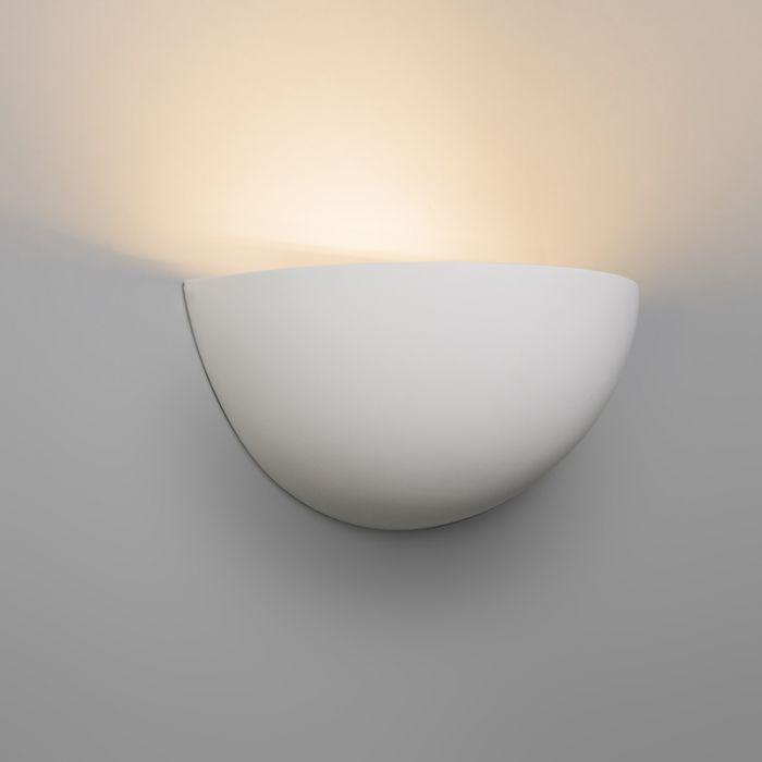 Moderne Wandlamp Wit Gips Gipsy Qazqa Wandlamp Modern Lampen Ophangen