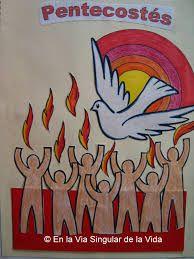 Resultado de imagen para manualidades para pentecostes