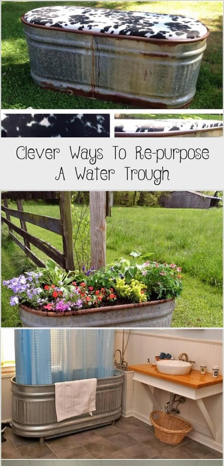 Clever ways to repurpose a water trough in 2020 water