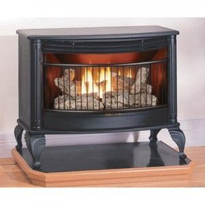 Procom Vent Free Dual Fuel Fireplace Ventless Fireplace