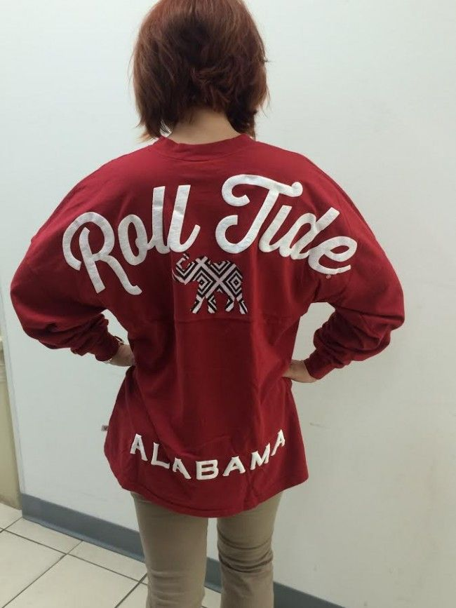 ROLL TIDE Jersey w/ black and white Elephant