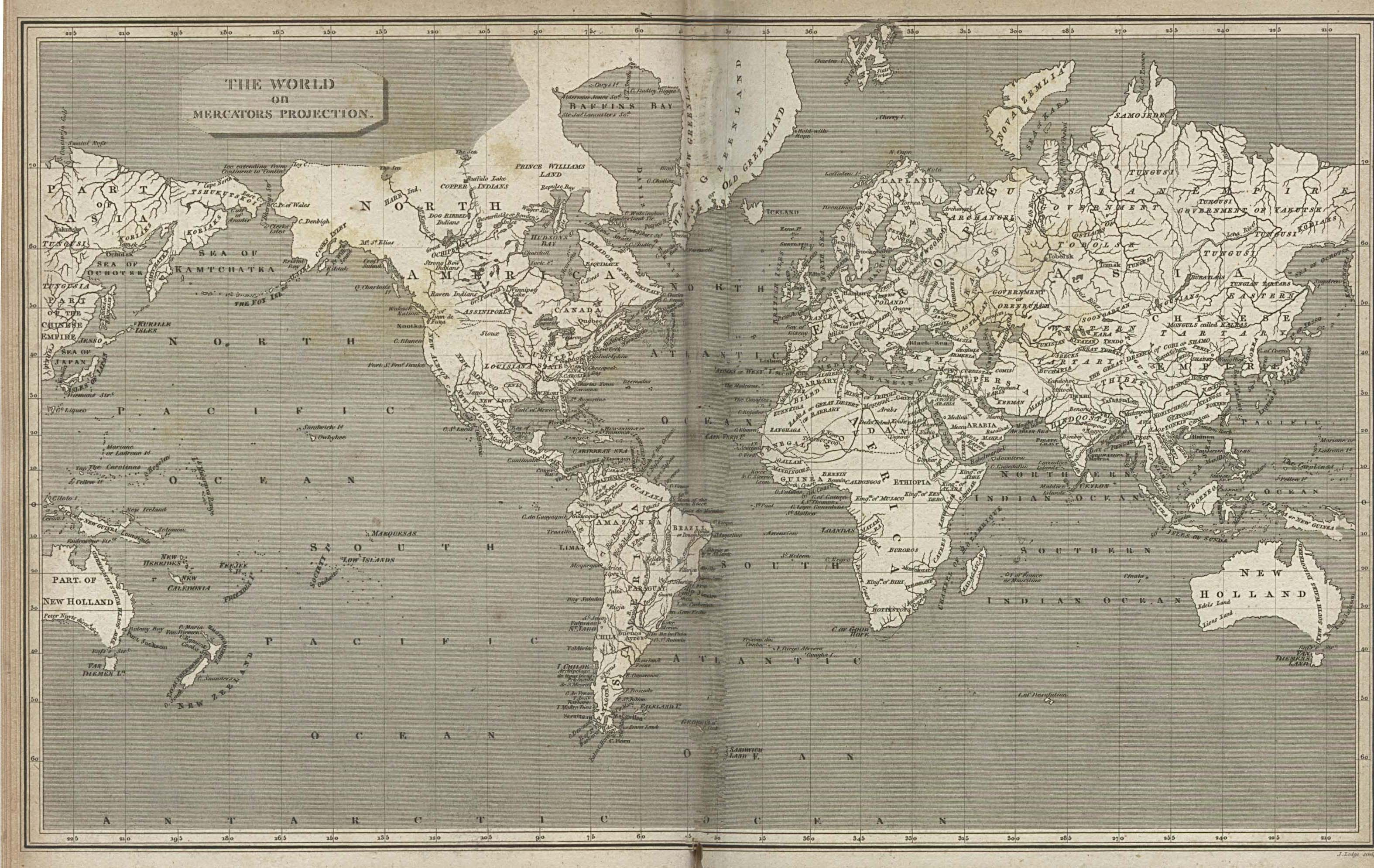 World Historical Maps PerryCastañeda Map Collection UT - Old world map
