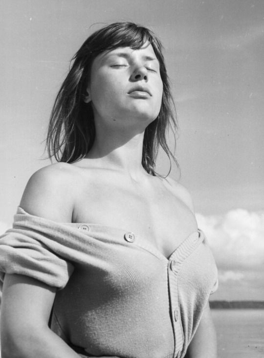 Harriet Andersson by Ingmar Bergman