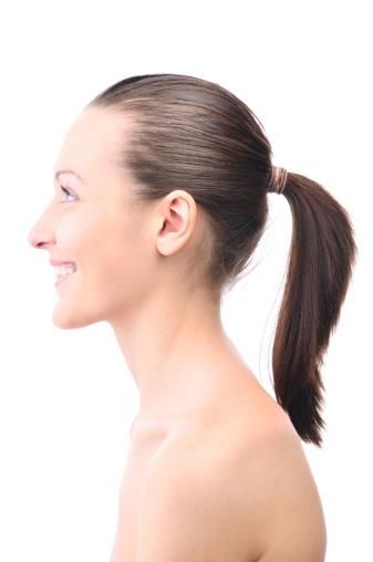 Hair loss fact: How tight is your ponytail? Years of too ...
