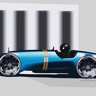 Bugatti inspired from watching the Goodwood Festival of Speed . . .  #car #transportation #minimalism #ferrari #automotivedesign #transportationdesign #cardesign #carsketch #bugatti #cardesigncommunity #sketch #sketchbook #render #photoshop #doodle #doodles #bmw #designerspen #design #3dprinted #designdaily #wacom #cintiq #toronto #canada #everyday #daily #concept #conceptart #cardesignconcept