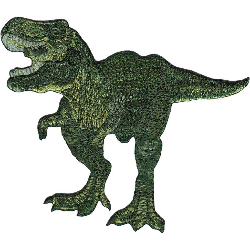 Ankylosaurus Iron On Dinosaur Patch T Rex Velociraptor Jurassic Park Badge Appli