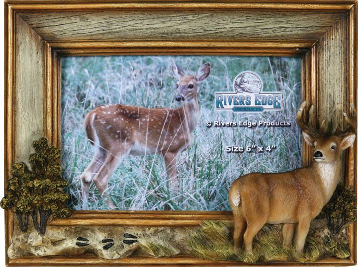 Hunting Frames - Deer Picture Frame | Deer pictures, Window and Display