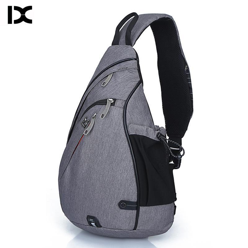 Unisex Chest Single Sling Messenger Bagpack Travel Outdoor Hiking Daypack