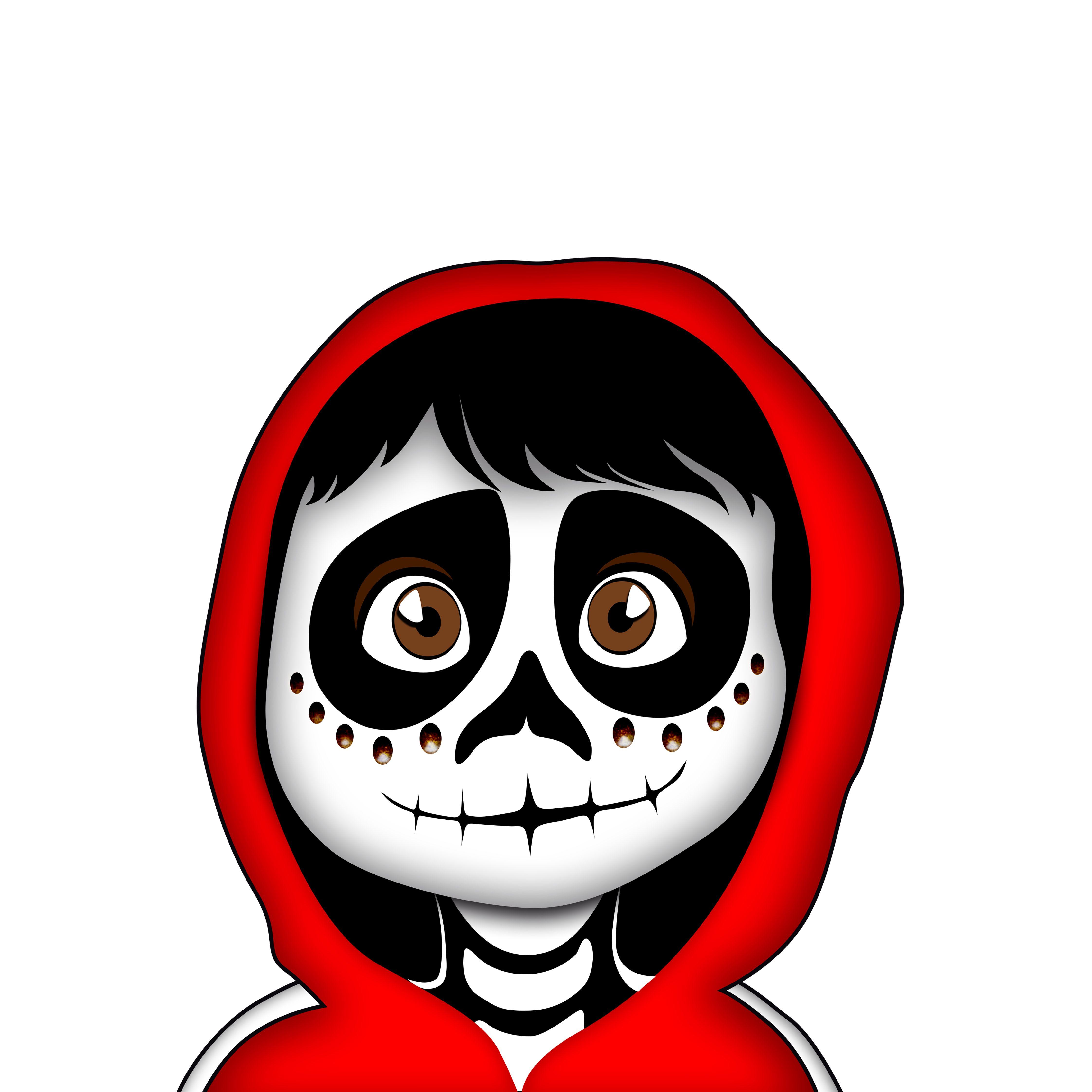 Miguel De Coco Redibj Mascaras Dia De Muertos Dibujo Dia De Muertos Fiesta De Los Muertos