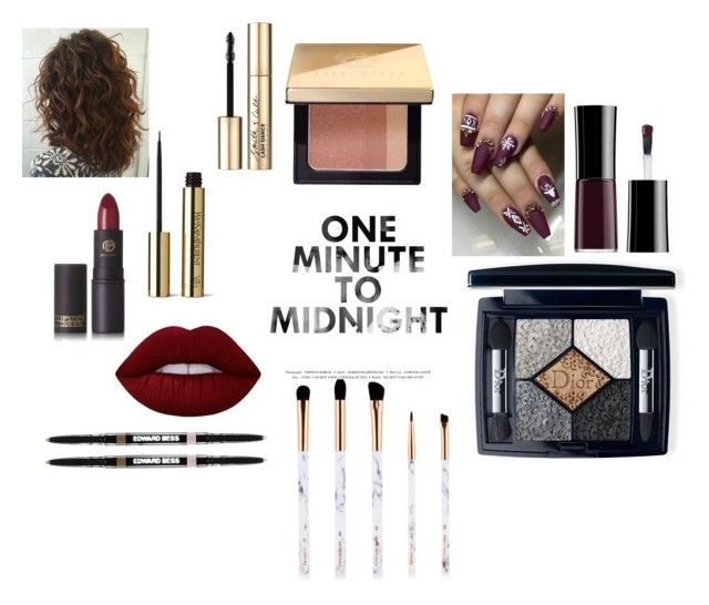 """""""Christmas Eve"""" by rebekahbeechook ❤ liked on Polyvore featuring beauty, Christian Dior, Yves Saint Laurent, Bobbi Brown Cosmetics, Edward Bess, Lipstick Queen, Smith & Cult and Giorgio Armani"""