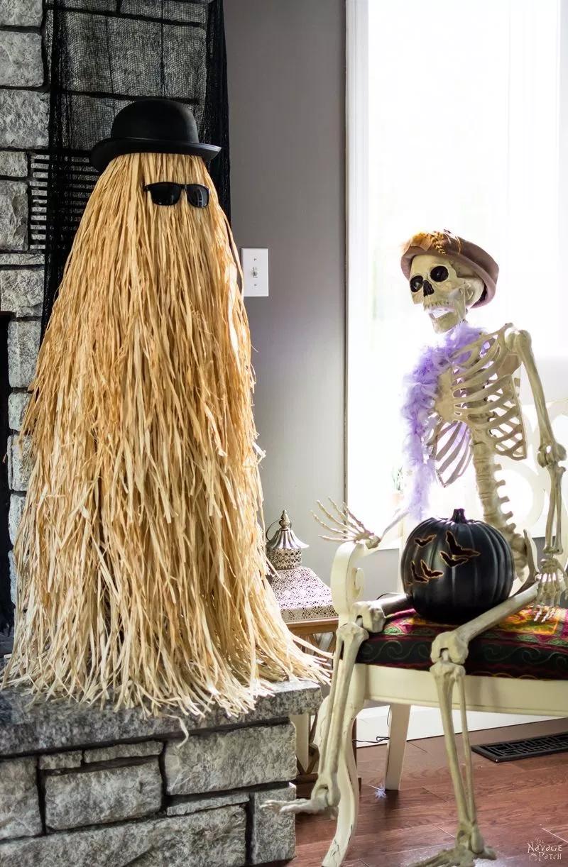 Cousin Itt Halloween Prop Tutorial Halloween props diy